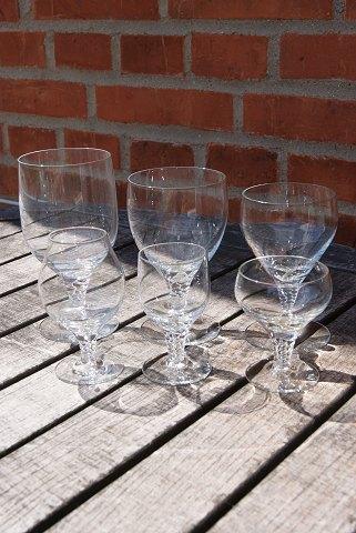 Antikkram - Amager glas fra Kastrup. Udvalg af glas