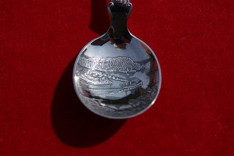 Antikkram - Sukkerskeer i sølv 830S