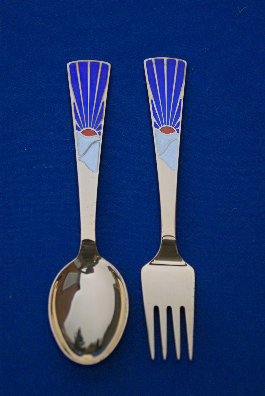 Michelsen 1995 A Danish Gilded Christmas Spoon