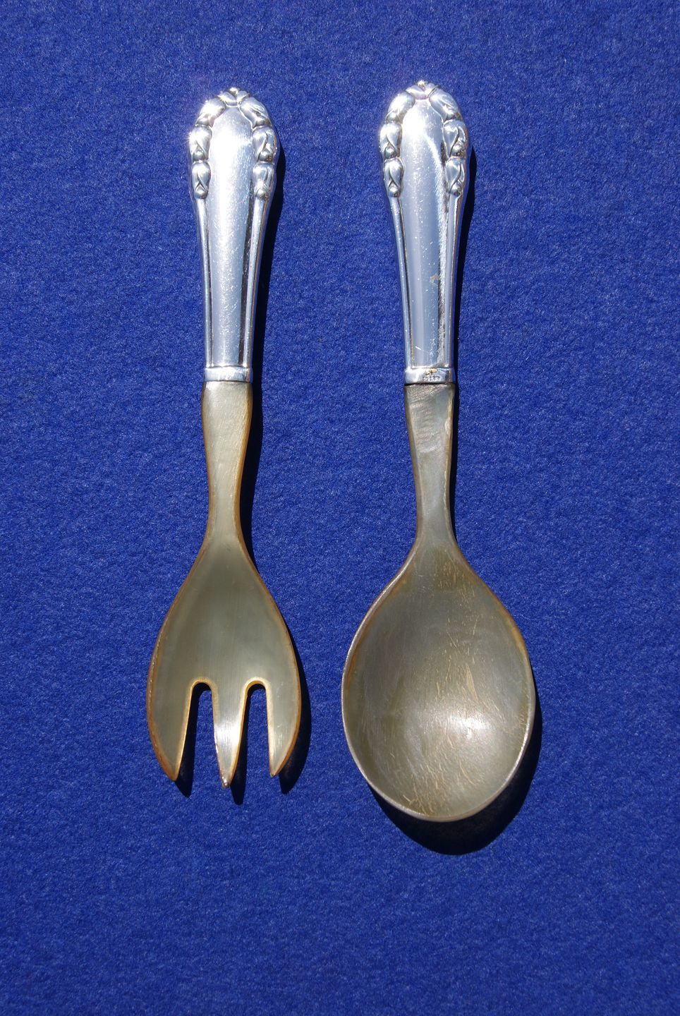 Georg Jensen Silver Luncheon Fork VINTAGE Lily of the Valley// Liljekonval